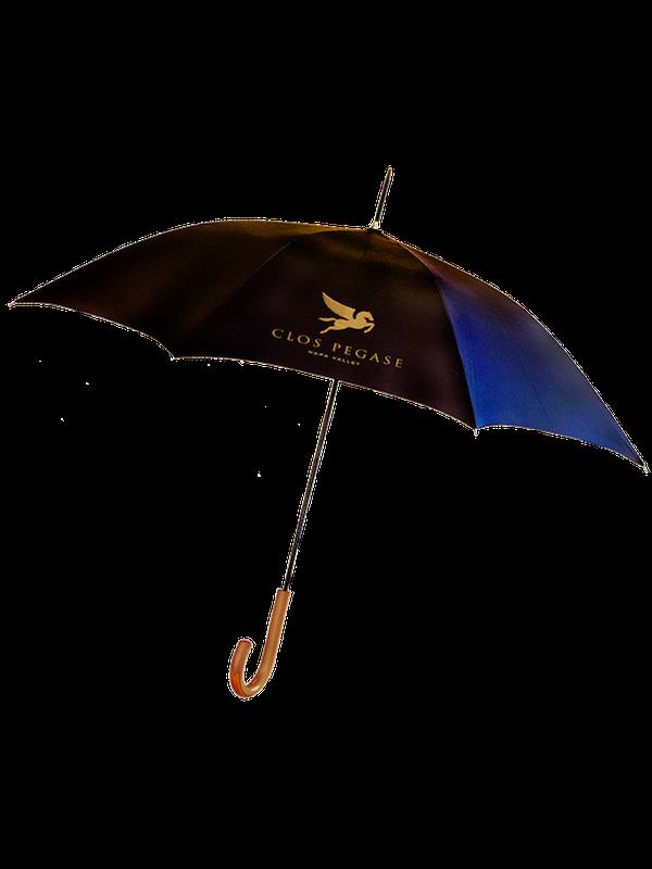 Clos Pegase Umbrella with Wood Handle